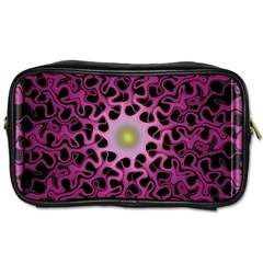 Cool Fractal Toiletries Bags 2 Side