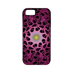 Cool Fractal Apple Iphone 5 Classic Hardshell Case (pc+silicone)