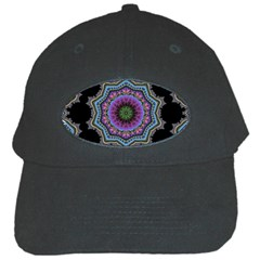 Fractal Lace Black Cap