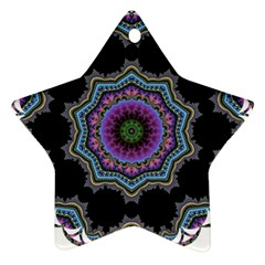 Fractal Lace Ornament (Star)