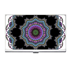 Fractal Lace Business Card Holders