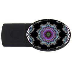 Fractal Lace USB Flash Drive Oval (2 GB)