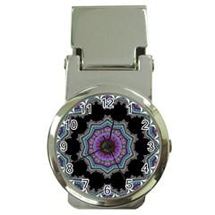 Fractal Lace Money Clip Watches