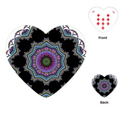 Fractal Lace Playing Cards (Heart)