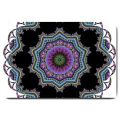 Fractal Lace Large Doormat