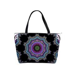 Fractal Lace Shoulder Handbags