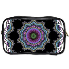 Fractal Lace Toiletries Bags