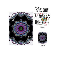 Fractal Lace Playing Cards 54 (Mini)