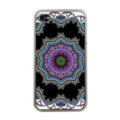 Fractal Lace Apple iPhone 4 Case (Clear)