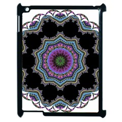 Fractal Lace Apple iPad 2 Case (Black)