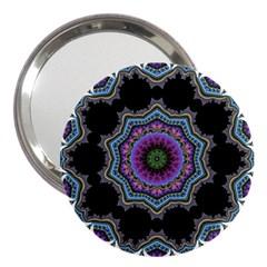 Fractal Lace 3  Handbag Mirrors