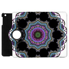Fractal Lace Apple iPad Mini Flip 360 Case