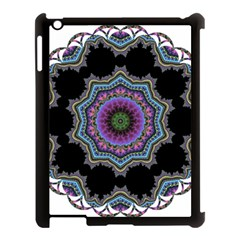Fractal Lace Apple iPad 3/4 Case (Black)