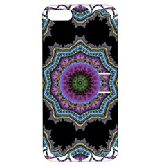 Fractal Lace Apple iPhone 5 Hardshell Case with Stand