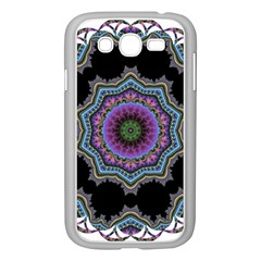 Fractal Lace Samsung Galaxy Grand DUOS I9082 Case (White)