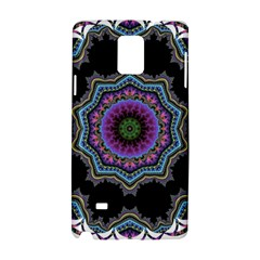 Fractal Lace Samsung Galaxy Note 4 Hardshell Case