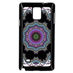 Fractal Lace Samsung Galaxy Note 4 Case (Black)