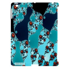 Decorative Fractal Background Apple iPad 3/4 Hardshell Case (Compatible with Smart Cover)