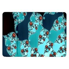 Decorative Fractal Background Samsung Galaxy Tab 8.9  P7300 Flip Case