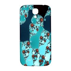 Decorative Fractal Background Samsung Galaxy S4 I9500/I9505  Hardshell Back Case