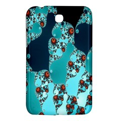 Decorative Fractal Background Samsung Galaxy Tab 3 (7 ) P3200 Hardshell Case