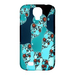Decorative Fractal Background Samsung Galaxy S4 Classic Hardshell Case (PC+Silicone)