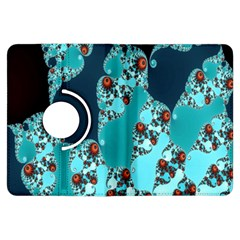 Decorative Fractal Background Kindle Fire HDX Flip 360 Case