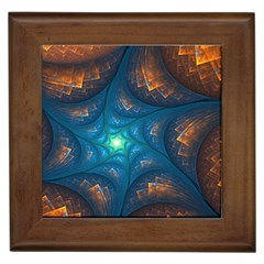 Fractal Star Framed Tiles