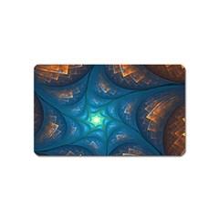 Fractal Star Magnet (name Card)