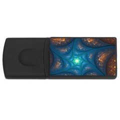 Fractal Star USB Flash Drive Rectangular (2 GB)