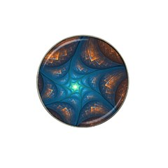 Fractal Star Hat Clip Ball Marker (4 Pack)