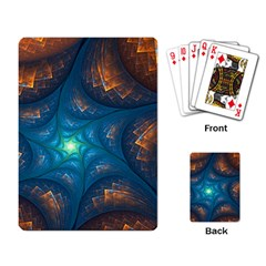 Fractal Star Playing Card