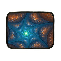 Fractal Star Netbook Case (small)