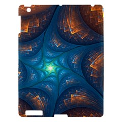 Fractal Star Apple Ipad 3/4 Hardshell Case