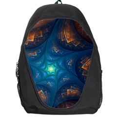 Fractal Star Backpack Bag