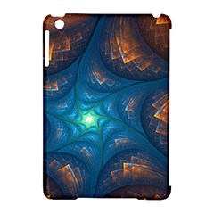 Fractal Star Apple iPad Mini Hardshell Case (Compatible with Smart Cover)