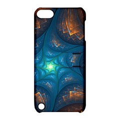 Fractal Star Apple iPod Touch 5 Hardshell Case with Stand