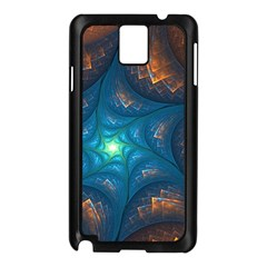 Fractal Star Samsung Galaxy Note 3 N9005 Case (black)