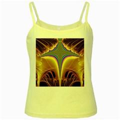 Symmetric Fractal Yellow Spaghetti Tank