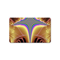 Symmetric Fractal Magnet (Name Card)