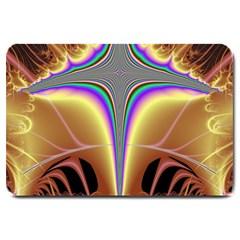 Symmetric Fractal Large Doormat