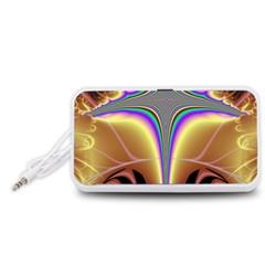 Symmetric Fractal Portable Speaker (White)