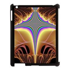 Symmetric Fractal Apple iPad 3/4 Case (Black)