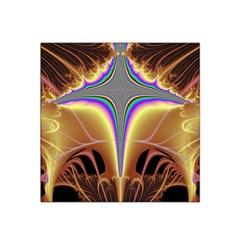 Symmetric Fractal Satin Bandana Scarf