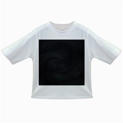 Distorted Net Pattern Infant/Toddler T-Shirts