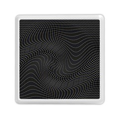 Distorted Net Pattern Memory Card Reader (square)