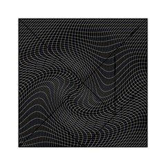 Distorted Net Pattern Acrylic Tangram Puzzle (6  X 6 )