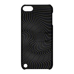 Distorted Net Pattern Apple iPod Touch 5 Hardshell Case with Stand
