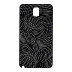 Distorted Net Pattern Samsung Galaxy Note 3 N9005 Hardshell Back Case