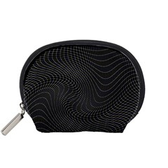 Distorted Net Pattern Accessory Pouches (Small)